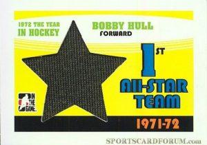71-72 1st All-Star Team Bobby Hull