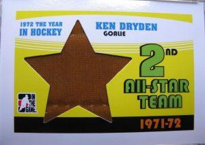 71-72 2nd All-Star Team Ken Dryden