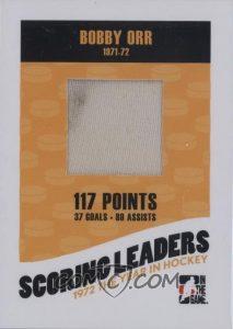 71-72 Scoring Leaders Bobby Orr