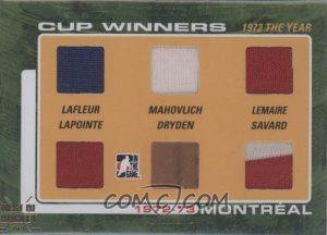 72-73 Cup Winners, Guy Lafleur, Frank Mahovlch, Jacques Lemaire, Guy Lapointe, Ken Dryden, Serge Savard