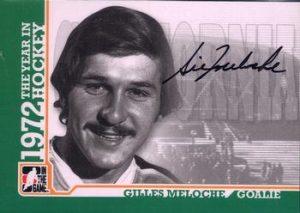 Autographs Gilles Meloche