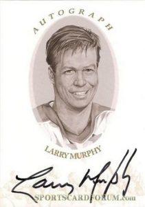 Autographs Gold Larry Murphy