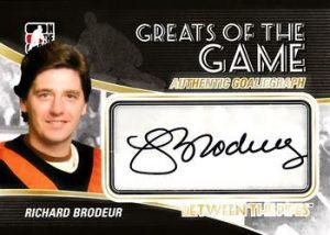 Autographs Richard Brodeur