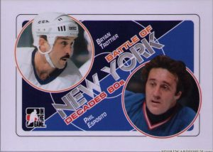 Battle of New York Bryan Trottier, Phil Esposito