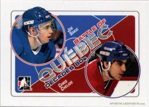 Battle of Quebec Joe Sakic, Chris Chelios