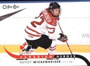 Canadian Heroes Hayley Wickenheiser