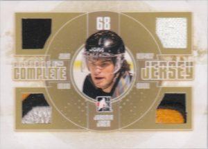 Complete Jersey Gold Jaromir Jagr