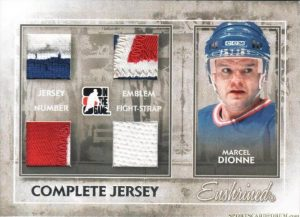 Complete Jersey Silver Marcel Dionne