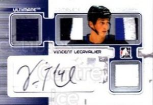 Complete Jersey and Auto Vincent Lecavalier