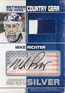 Country Gear Jersey and Auto Silver Mike Richter