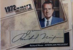 Cut Signatures Richard Nixon