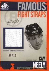 Famous Fight Straps Cam Neely
