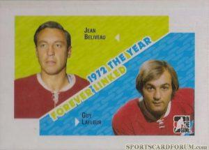 Forever Linked Jean Beliveau, Guy Lafleur