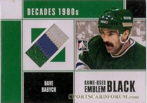 Game Used Emblem Dave Babych