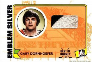 Game-Used Emblem Gary Dornhoefer