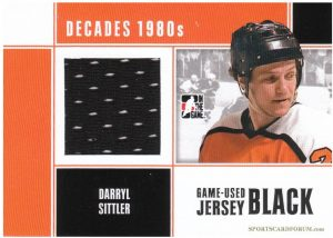 Game-Used Jersey Darryl Sittler