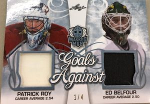 Goals Against Patrick Roy, Ed Belfour