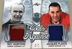 Goals Against Roy Worters, Jacques Plante