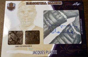Immortal Marks Jacques Plante