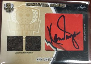 Immortal Marks Ken Dryden
