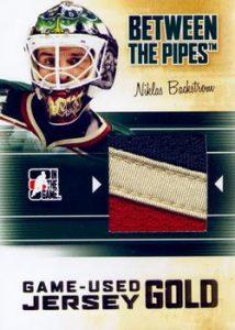 Jerseys Gold Niklas Backstrom