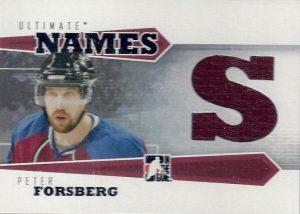 Names Peter Forsberg