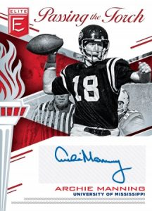 Passing the Torch Auto Archie Manning