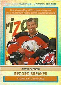 Record Breakers Martin Brodeur