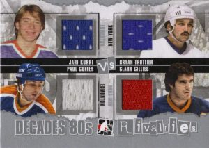 Rivalries Jari Kuri, Paul Coffey, Bryan trottier, Clark Gillies