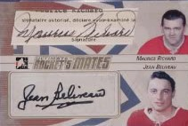 Rocket's Mates Maurice Richard, Jean Beliveau