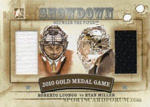 Showdown Silver Roberto Luongo vs Ryan Miller