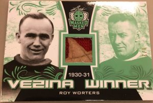 Vezina Winners Roy Worters