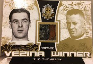 Vezina Winners Tiny Thompson