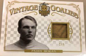 Vintage Goalies Paddy Moran