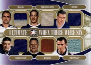 When There Were Six Gold Bob Baun, Frank Mahovlich, Dave Keon, Terry Sawchuk, Turk Broda, Ted Kennedy
