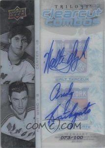 1-2 Clearcut Combo Walt Tkaczuk, Andy Bathgate