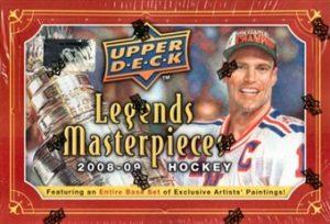 2008-09 Legends Masterpieces Box