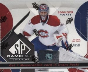 2008-09 SP Game Used Box
