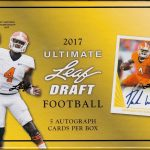 2017 Leaf Ultimate Draft Football Box