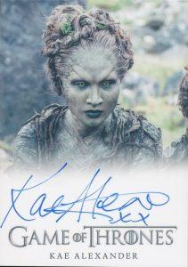 Autographs Kae Alexander