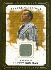 Canvas Clippings Scotty Bowman