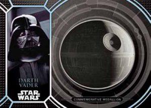 Commemorative Medallion Darth Vader