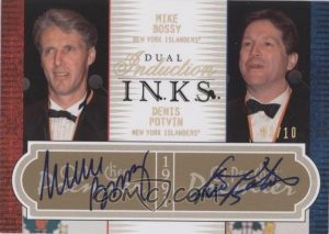 Dual Induction Inks Denis Potvin, Mike Bossy