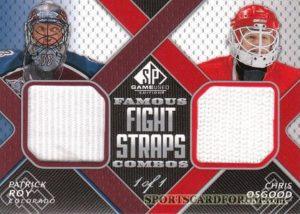 Famous Fight Straps Combos Patrick Roy, Chris Osgood
