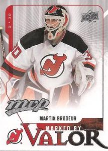 Marked By Valor Martin Brodeur