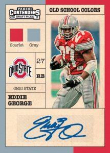 Old School Colors Autos Eddie George