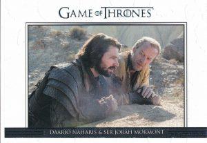 Relationsips Daario Naharis & Ser Jorah Mormont
