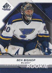 Rookies Ben Bishop