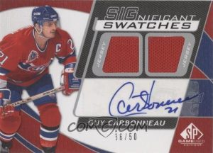 SIGnificant Swatches Guy Carbonneau