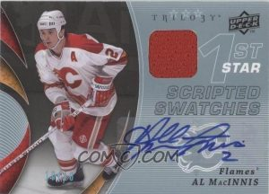 Scripted Swatches 1st Star Al MacInnis